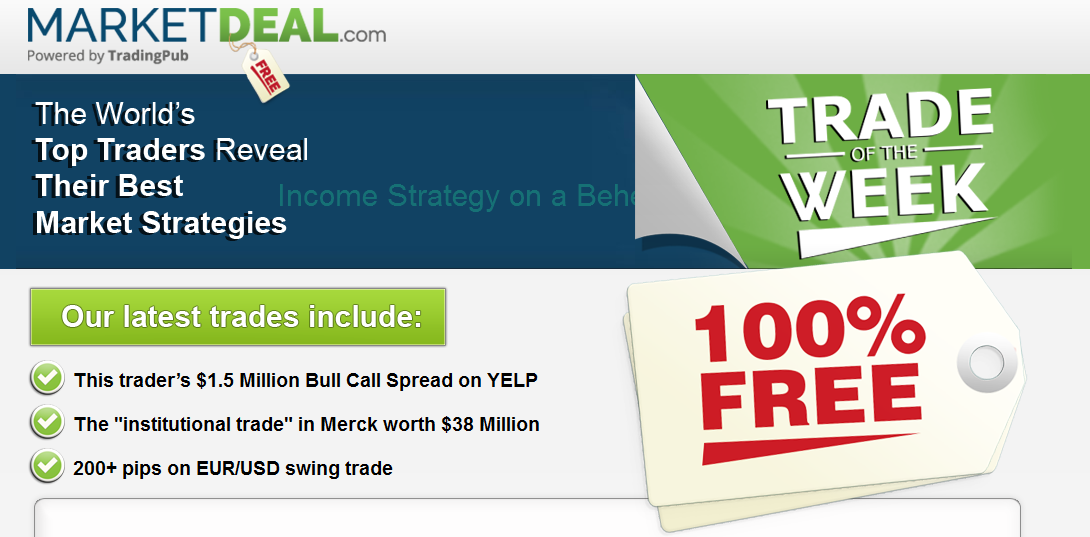Market Deal Trade Of The Week